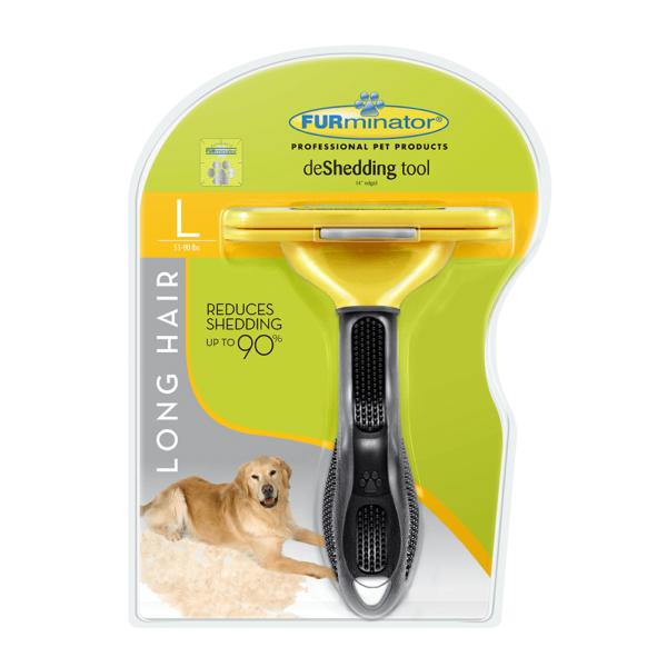 furminator large long hair deshedding tool comb